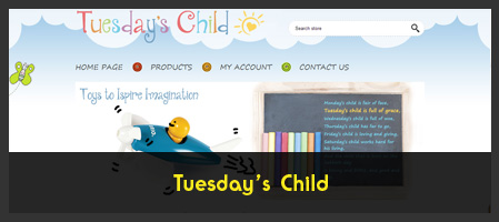Tuesday's Child, Toys to Inspire Imagination